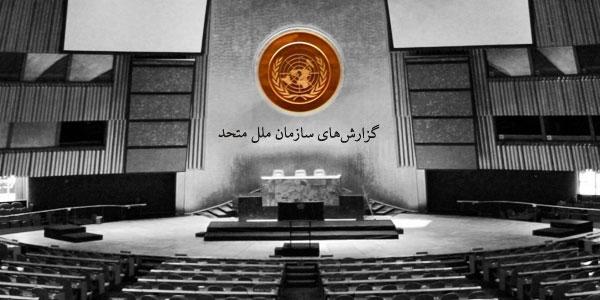 گزارشهای سازمان ملل متحد